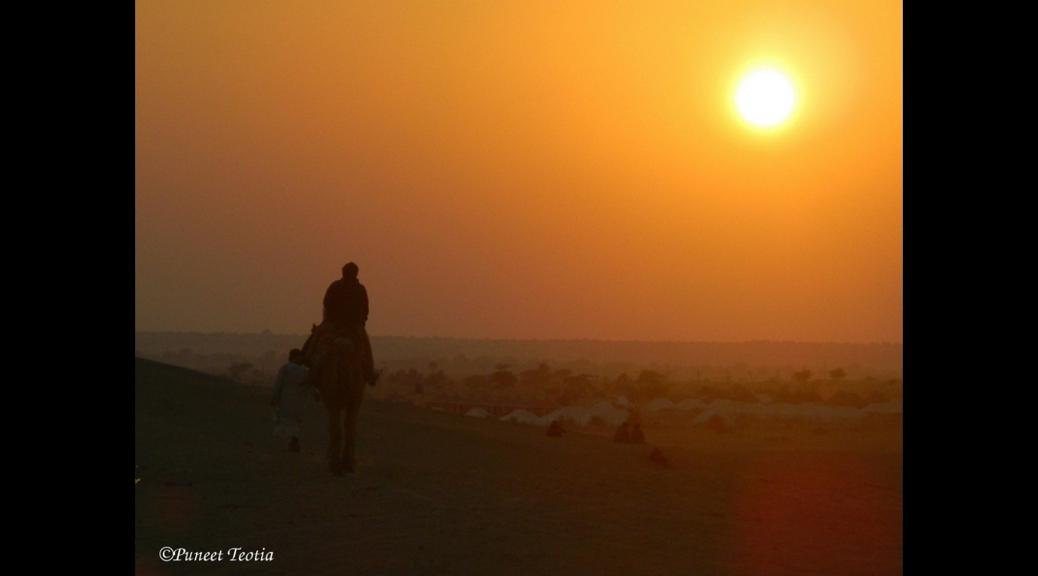 Jaisalmer Via Bikaner: Part 3- Desert Camping and Stone of Miracle