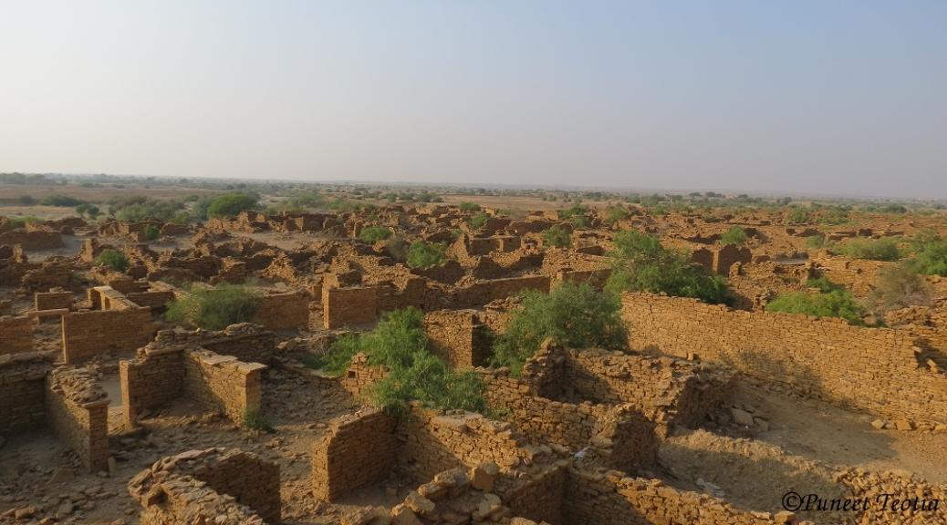 Jaisalmer Via Bikaner: Part 2- Living Fort of Jaisalmer and Story of Kuldhara