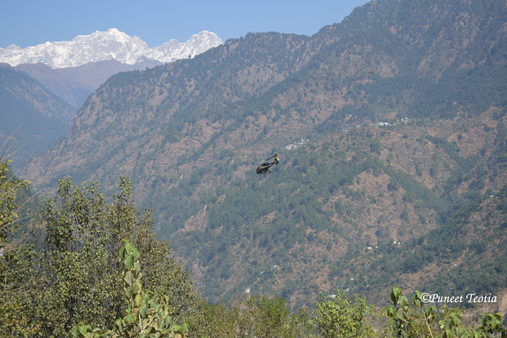 Helicopter Ride to Kedarnath Dham