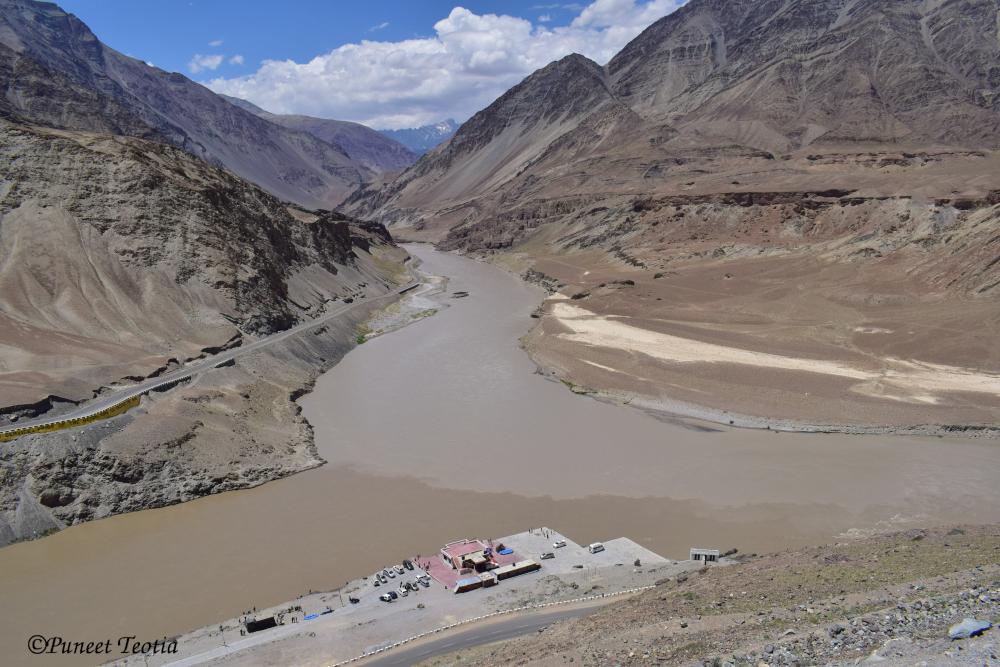 Zanskar And Indus River Sangam