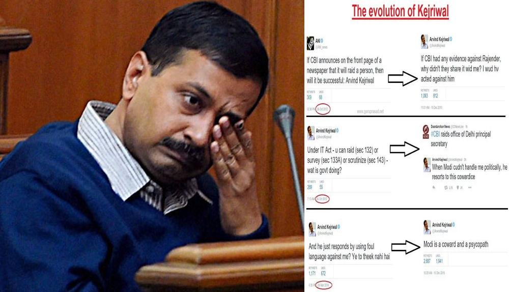 How Twitterati take on Arvind Kejriwal Over CBI Raid